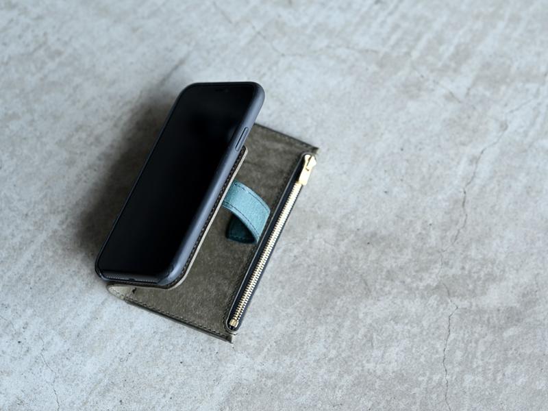 プエブロお財布一体型携帯ケース